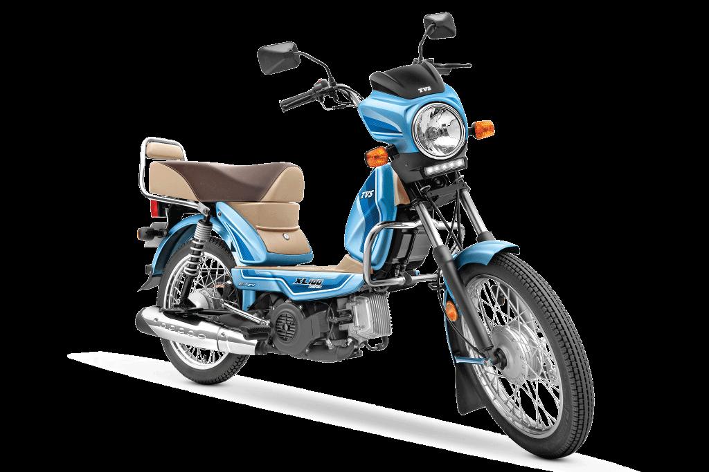 TVS XL100 BS6, Motor dengan Mesin Kecil Berbanderol Rp 9 Jutaan - JPNN.com