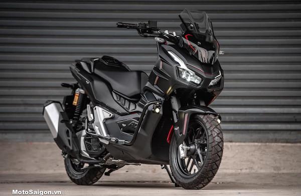 Modifikasi Honda ADV 150 dengan Karakter Batman, Gahar - JPNN.com