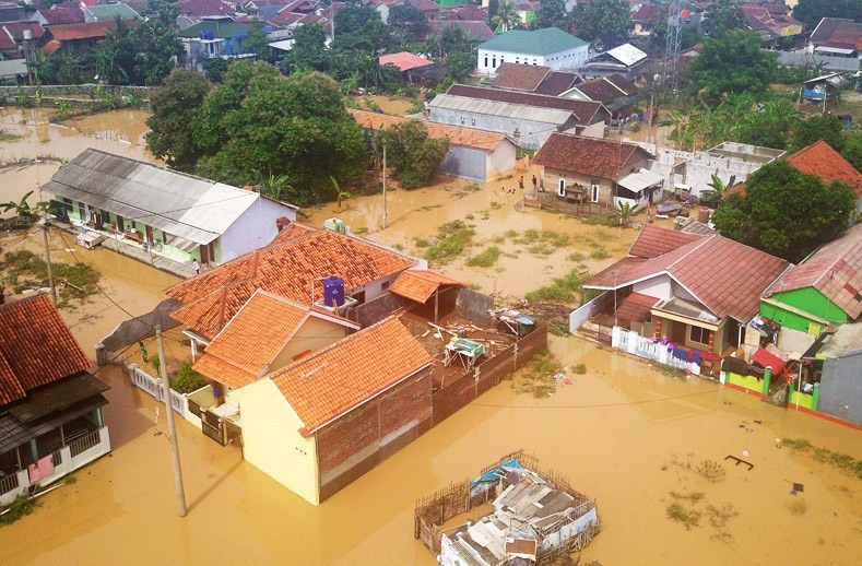 Kota Cilegon Diterjang Banjir Lagi - JPNN.com
