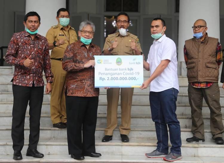 Lawan Corona, Bank BJB Salurkan CSR Rp 2 Miliar Lewat Jabar Quick Response - JPNN.com