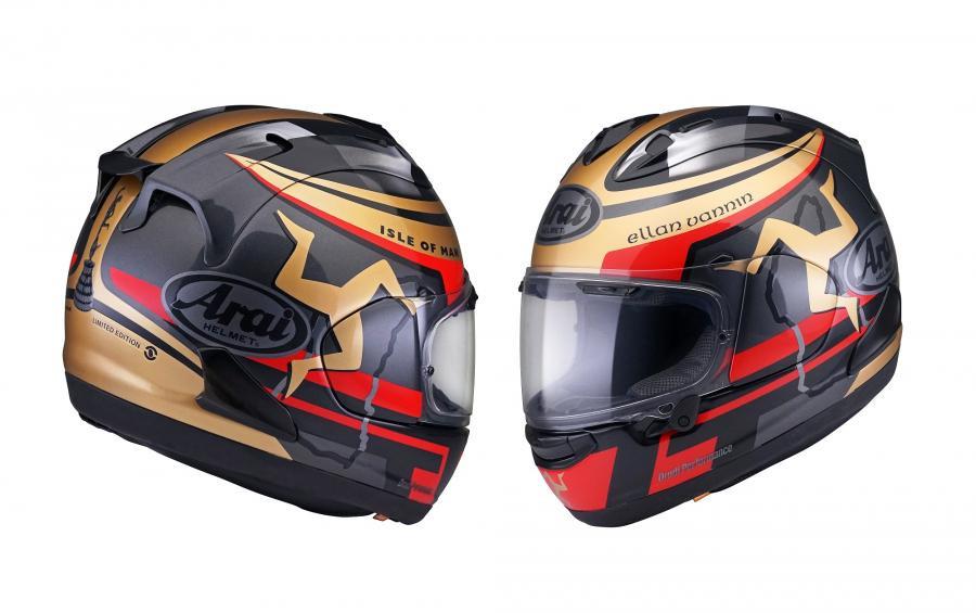 Arai Kenalkan Helm RX-7 Isle of Man TT, Cek Harganya - JPNN.com