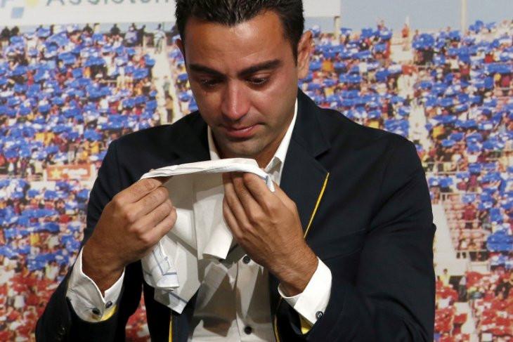 Xavi Hernandez Kini Siap Melatih Lionel Messi Cs - JPNN.com