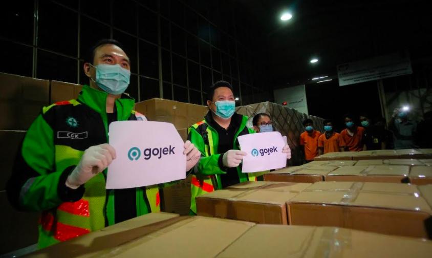 Dukungan Pemerintah Permudah Gojek Impor 5 Juta Masker - JPNN.com