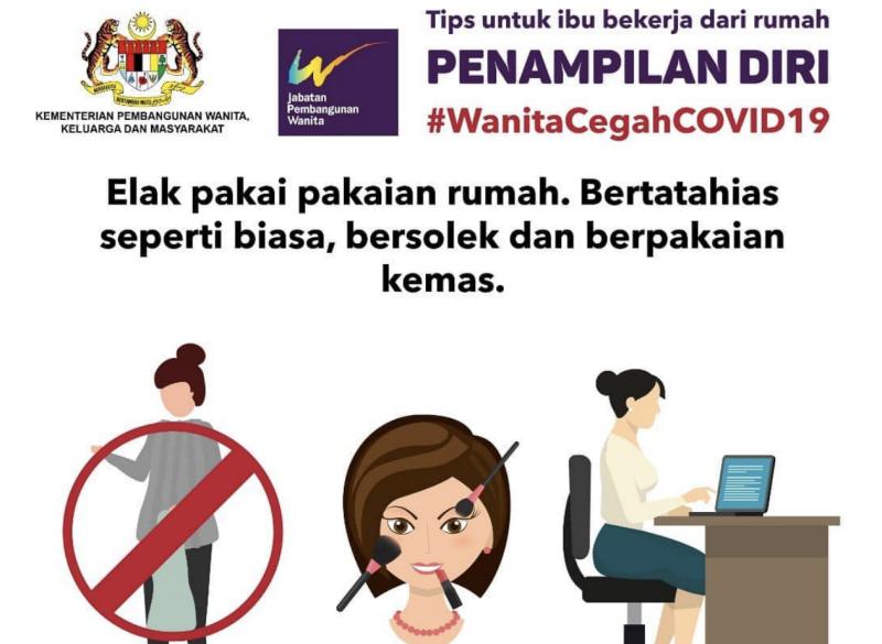 kementerian-wanita-malaysia-minta-para-istri-tak-omeli-suami-selama-lockdown-corona