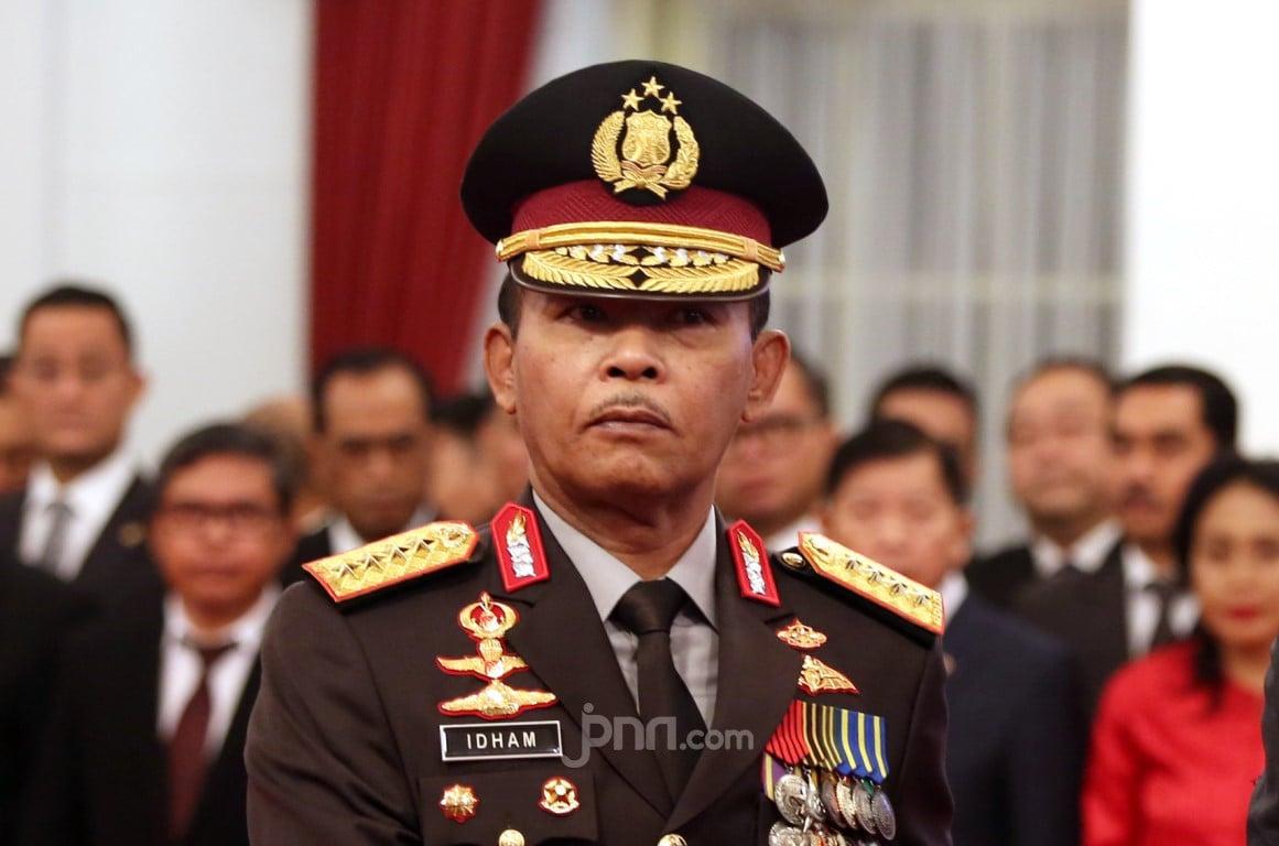 Telegram Jenderal Idham Azis, Tolong Seluruh Anggota Polri dan PNS Mematuhi - JPNN.com