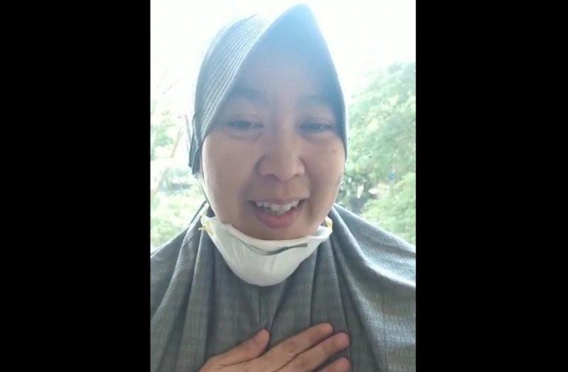 Alhamdulillah, Novita Sembuh dari Corona, Dia Cerita Begini - JPNN.com