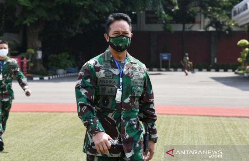 KSAD Pantau Pendistribusian Bantuan Kemenhan untuk 17 RS TNI AD - JPNN.com