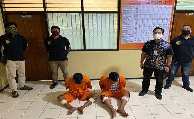 2 Bandit Modus Pecah Kaca Mobil Dapat Hadiah dari Polisi, Tuh Lihat - JPNN.com