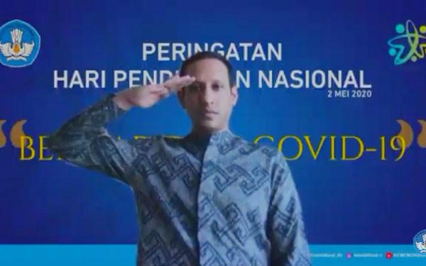 Pesan Menyentuh Mendikbud Nadiem di Peringatan Hardiknas - JPNN.com
