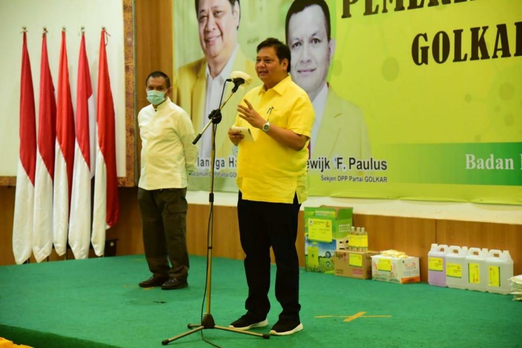 Airlangga Temui Prabowo - JPNN.com