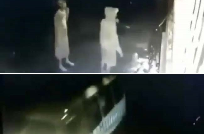 Kawanan Penjahat Terekam CCTV saat Beraksi Pakai Angkot, Videonya Viral di Medsos - JPNN.com