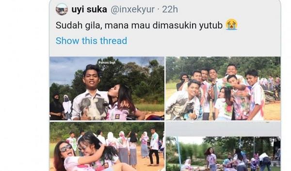 Video Vulgar Siswi SMA Rayakan Kelulusan Viral di Media Sosial, Lihat Gayanya - JPNN.com