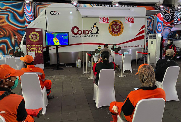 BIN Luncurkan Mobile Laboratory dan Rapid Test Massal di Stasiun Sudirman - JPNN.com