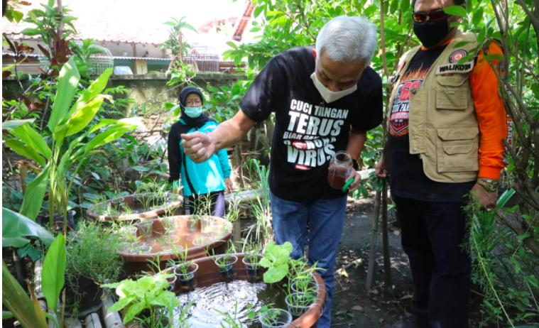 Konsep Jogo Tonggo di Tegal Patut Ditiru, Ganjar: Tidak Hanya Mengandalkan Bantuan Pemerintah - JPNN.com