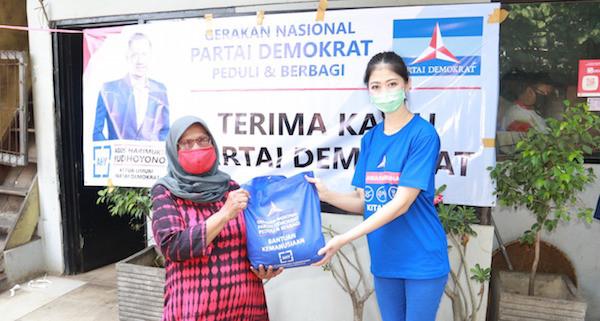 Partai Demokrat Mulai Distribusikan Paket Sembako untuk Lansia, Semoga Bermanfaat - JPNN.com