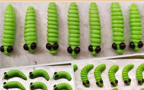 Caterpillar Cookies Lagi Tren, Begini Cara Membuatnya - JPNN.com