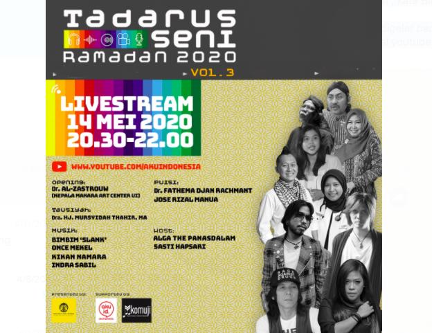 Tadarus Seni Ramadan Live Streaming YouTube, Bertabur Selebritas - JPNN.com