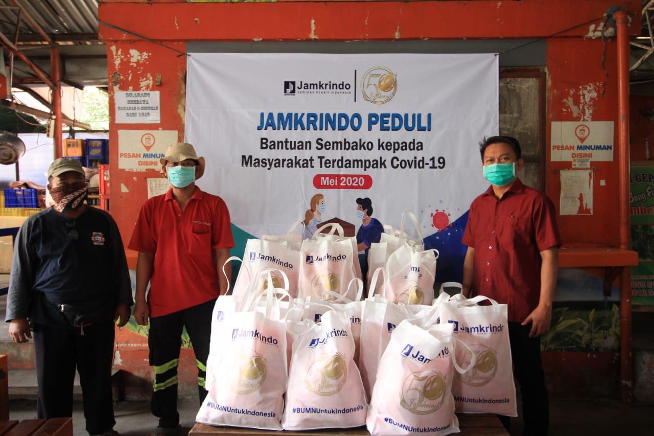 Dampak Covid-19, Jamkrindo Beri Bantuan Berkelanjutan di Seluruh Indonesia - JPNN.com