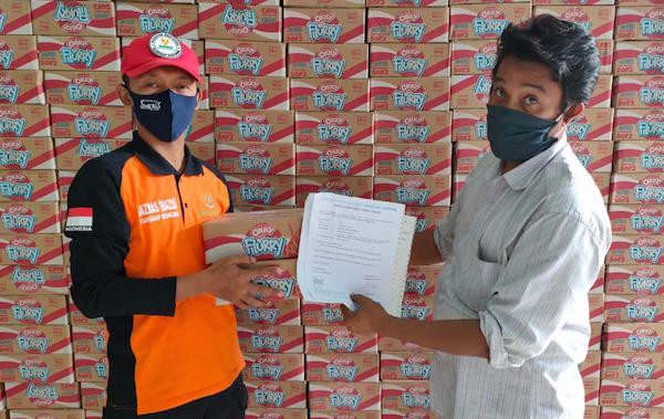 Dukung PSBB, Baznas DKI Jakarta Salurkan Bantuan dari PT Suntory Garuda Beverage - JPNN.com