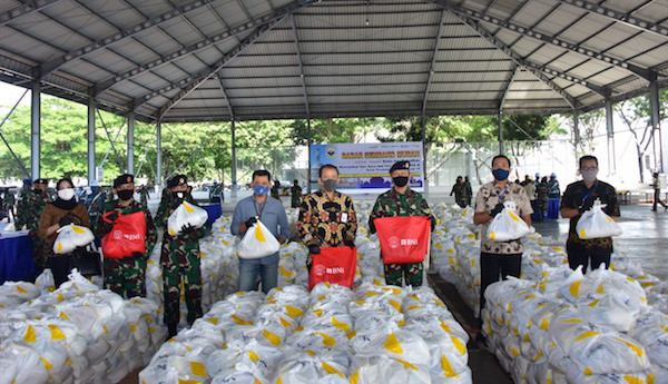 Jelang Hari Raya Idulfitri, Koarmada II Gelar Bazar Sembako Murah untuk Prajurit - JPNN.com