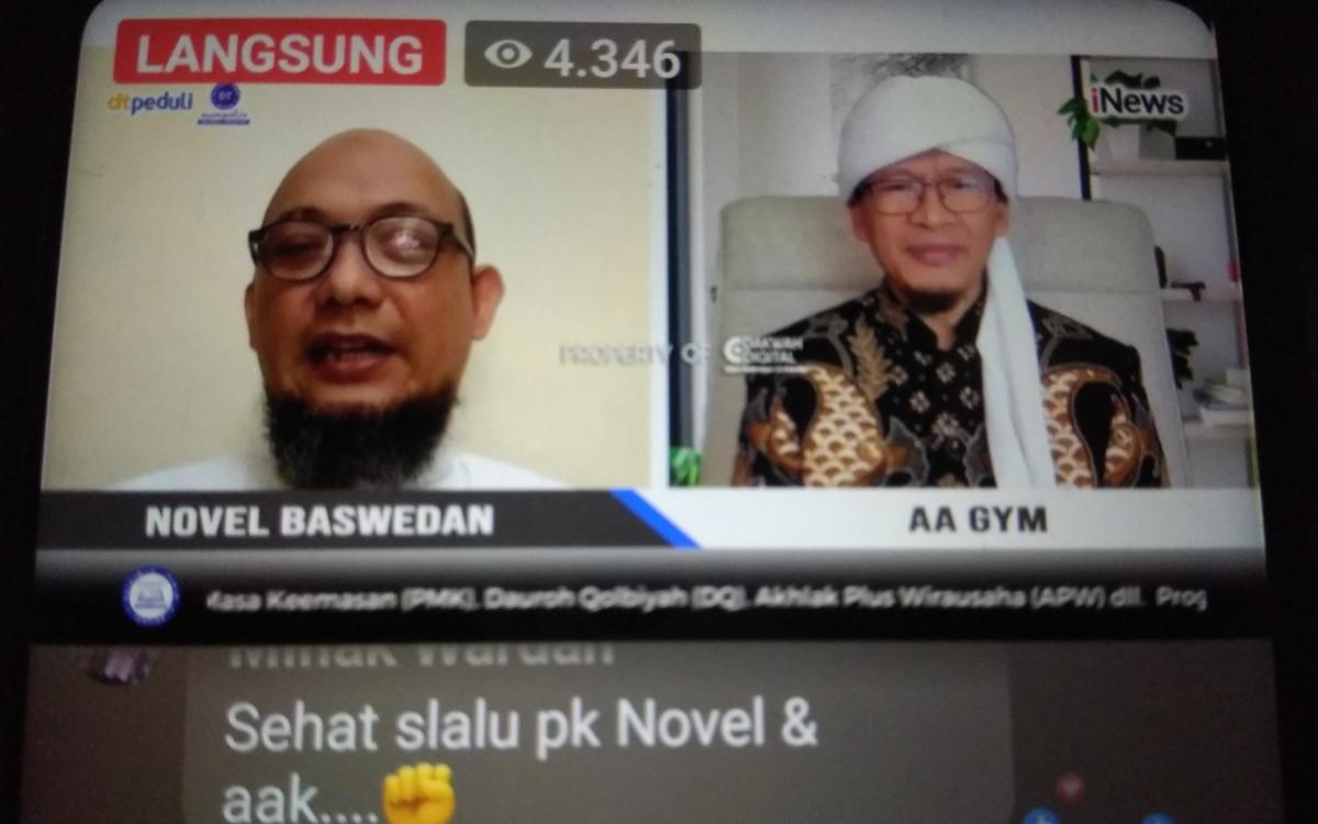 Kepada Aa Gym, Novel Baswedan Cerita Bertemu Anak Muda di Pintu Masjid - JPNN.com