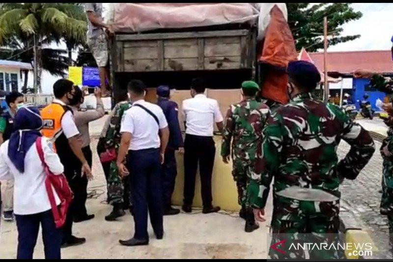 Tim Gabungan Curiga dengan Truk yang Dimodifikasi,Lantas Diperiksa, Isinya Mengejutkan - JPNN.com