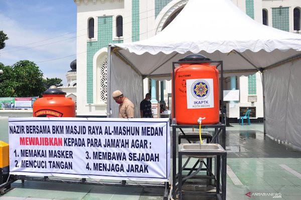Pengumuman Penting dari Pengurus Masjid Raya Kepada Warga yang Hendak Salat Id - JPNN.com