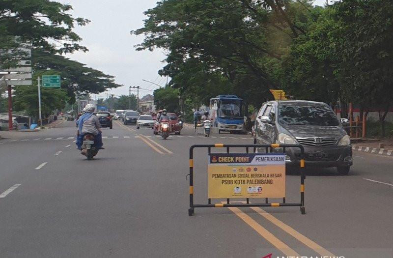 Daftar Lokasi Pos Pemeriksaan PSBB Palembang, Simak Jenis Sanksinya - JPNN.com