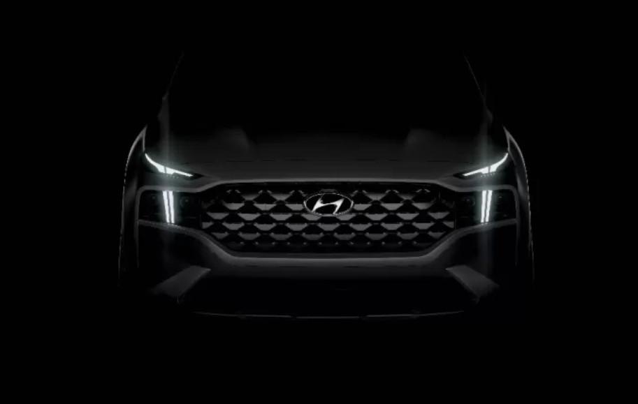 Hyundai Rilis Teaser Generasi Terbaru Santa Fe - JPNN.com