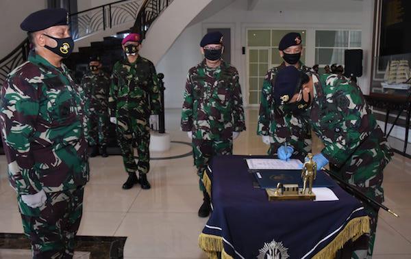 Sah! Kolonel Laut Ferry Supriady Resmi Menjabat Dirrenbang AAL - JPNN.com