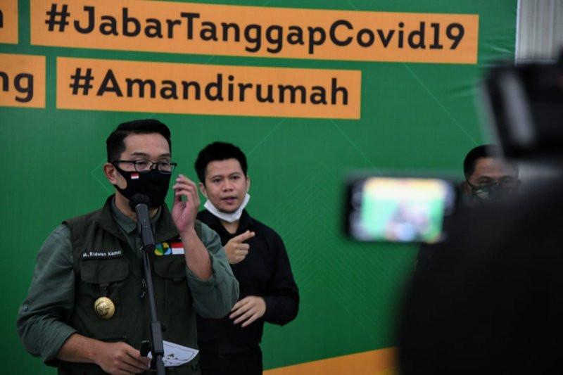 Ridwan Kamil Beber Kondisi Covid-19 di Kota Depok, Duuuh - JPNN.com