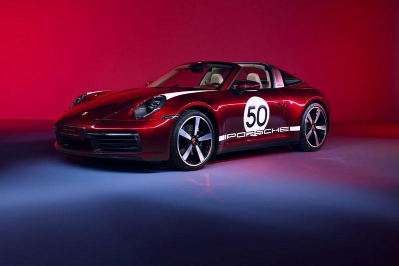 Porsche 911 Targa 4S Heritage Design Edition Dibanderol Rp 2,6 Miliar - JPNN.com