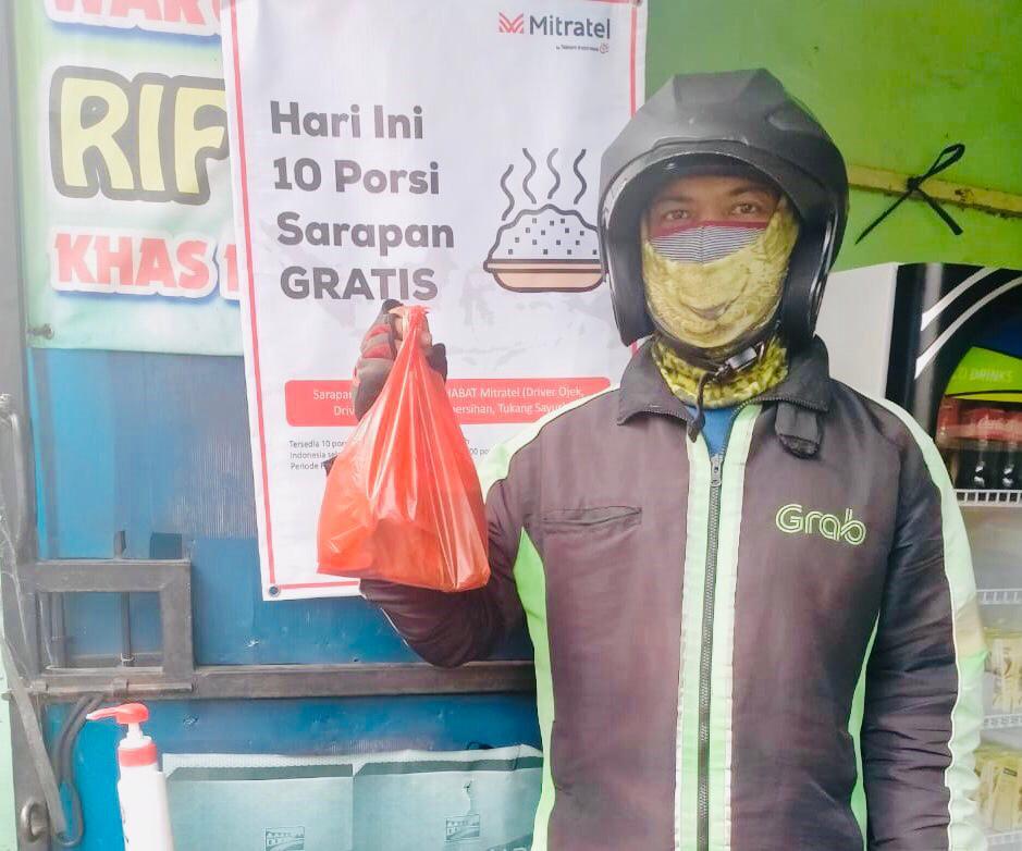 Mitratel Sediakan 125 Ribu Makanan Gratis Hingga Akhir 2020 - JPNN.com