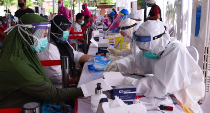 BIN Khawatir, Masih Banyak Hasil Reaktif selama Rapid Test Massal di Surabaya - JPNN.com
