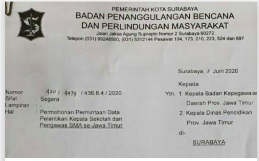 Klaster Pelantikan Kepsek, Pemkot Surabaya Langsung Berburu Pegawai yang Hadir - JPNN.com