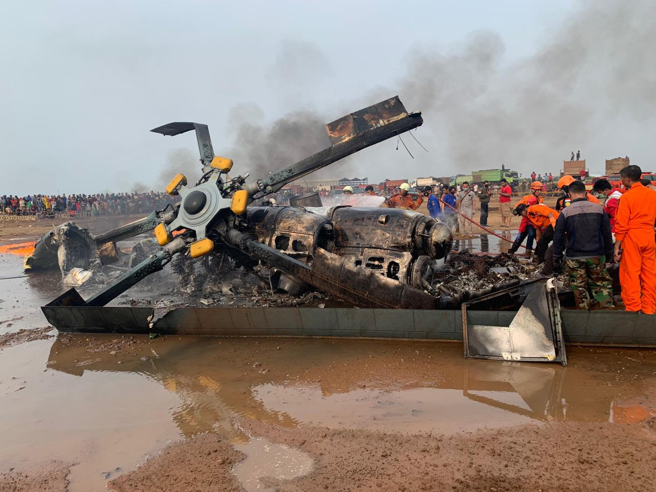 Aksi Heroik Praka Andi, Prajurit TNI yang Menyelamatkan Rekannya Saat Kecelakaan Helikopter - JPNN.com