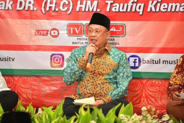 Bamsoet: Almarhum Taufiq Kiemas Pantas Mendapat Penghargaan Sebagai Bapak Empat Pilar MPR RI - JPNN.com