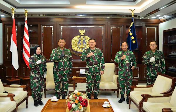 Tiga Pati TNI AL Ini Kompak Menghadap KSAL Laksamana Yudo, Ada Apa? - JPNN.com
