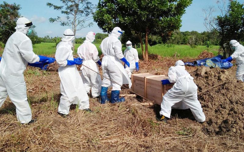 Satgas COVID-19: Kasus Kematian Indonesia Masih di Atas Rata-Rata Global - JPNN.com