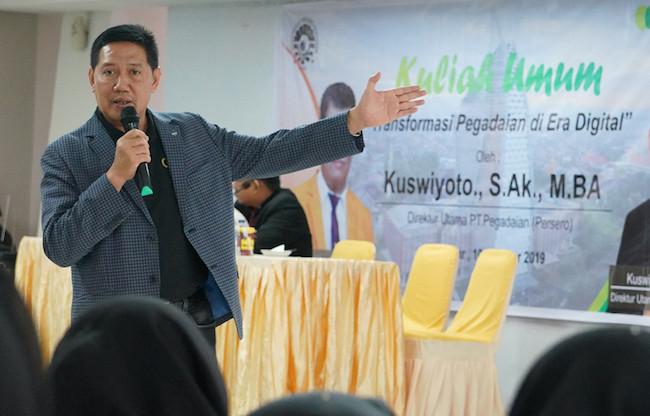 Direktur Utama Pegadaian Kuswiyoto Raih Best CEO 2020 - JPNN.com
