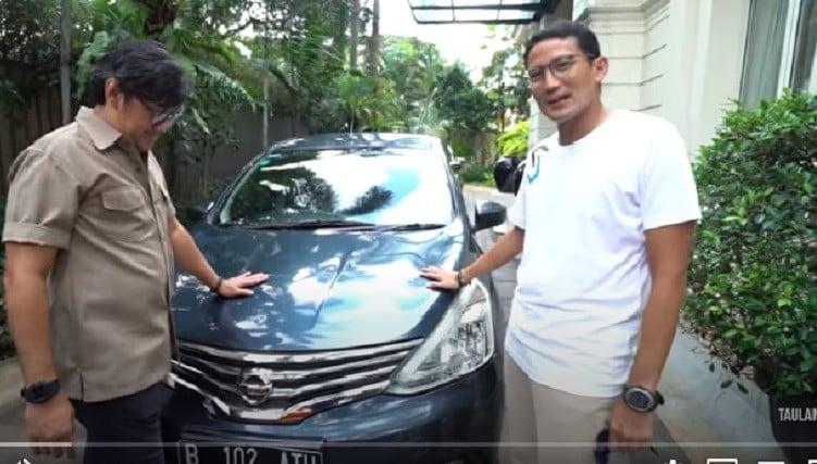 Masuk Garasi Sandiaga Uno, Andre Taulany Langsung Terkejut - JPNN.com