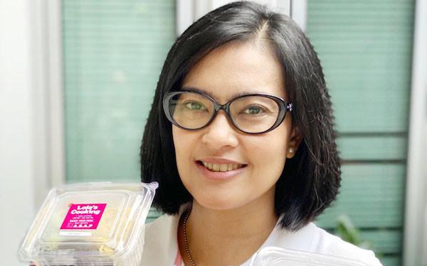 Dampak Pandemi, Lola Amaria Jualan Nasi Cimet - JPNN.com