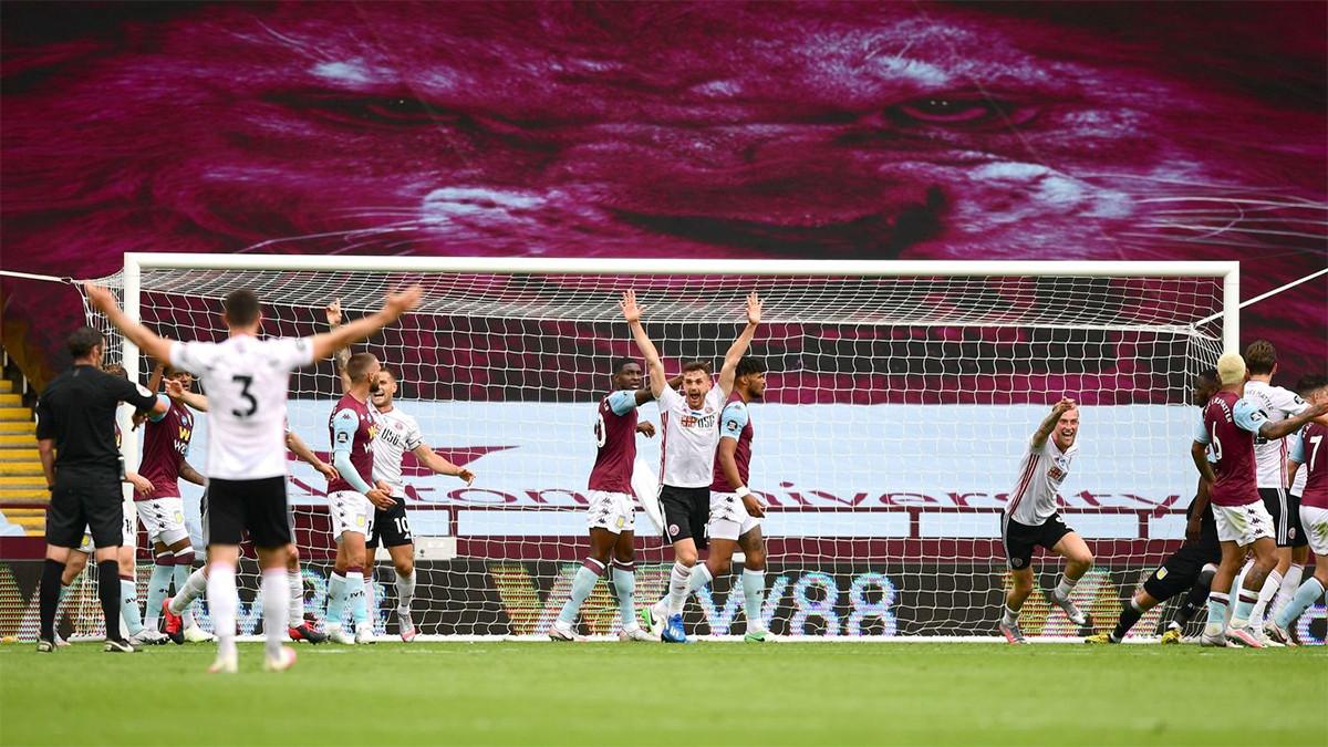 7 Kamera Tak Bisa Melihat Gol Sheffield United ke Gawang Aston Villa - JPNN.com