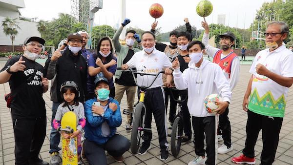 Pesan Menpora Kepada Penggiat Extreme Sport Indonesia - JPNN.com