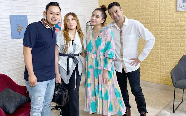 Raih 2 Rekor MURI, Raffi Ahmad dan Nagita Slavina Didukung MS Glow - JPNN.com