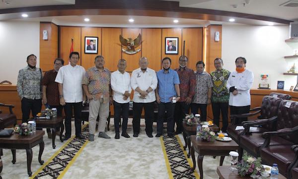 Harapan Ketua PWI Pusat Saat Bertemu Pimpinan DPD RI - JPNN.com