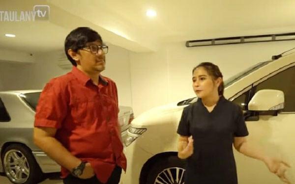Masuk Garasi Rumah Prilly, Andre Taulany Langsung Kaget - JPNN.com
