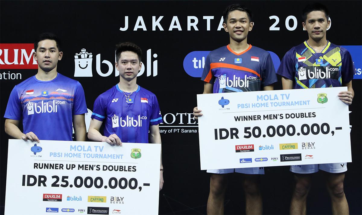 Turnamen PBSI: Fajar/Yeremia Dapat Rp 50 Juta, Kevin/Reza Juga Lumayan - JPNN.com