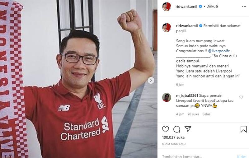 Bu Cinta Dulu Gadis Sampul, Yang Juara Satu Adalah Liverpool - JPNN.com