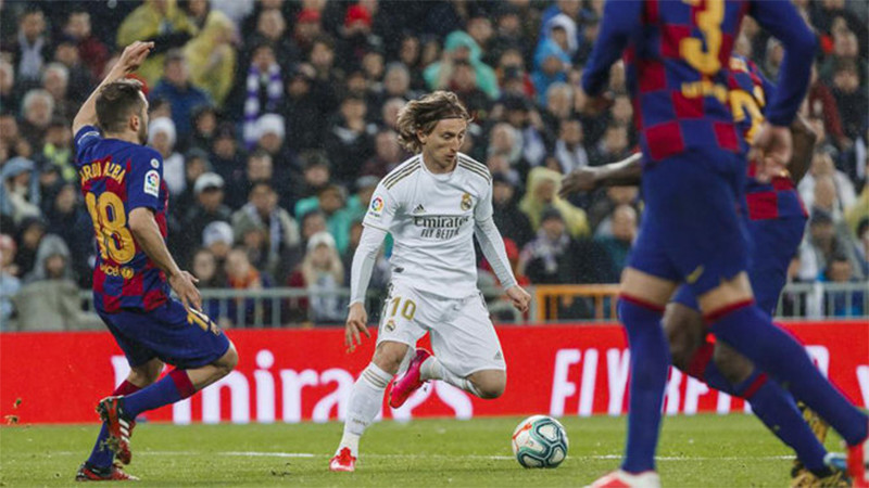 Klasemen La Liga dan Jadwal Laga Sisa Real Madrid-Barcelona - JPNN.com